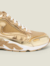 Flame Trainers : Must-Have color Full Gold