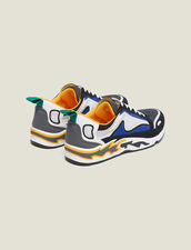 Flame Trainers : All Shoes color Dark Navy