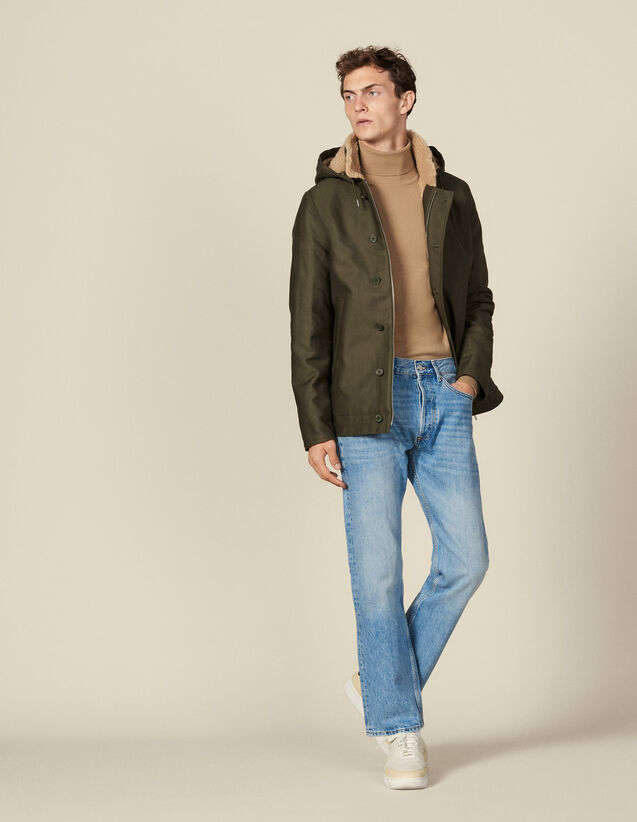 Deck Jacket Parka : Trench coats & Coats color Olive Green