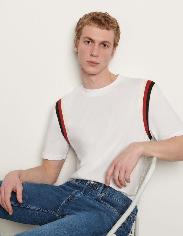 T-shirt en coton organique : T-shirts & Polos couleur Marine