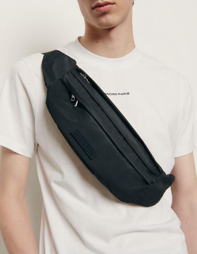 Large cross-body belt bag : New Summer Collection color Black
