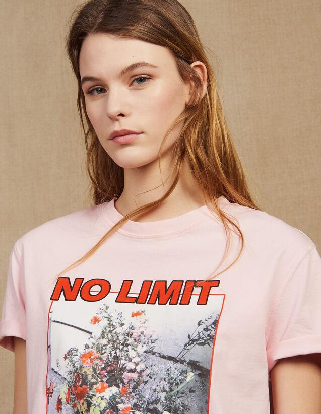 Slogan T-Shirt With Images : LastChance-FR-FSelection color Pink