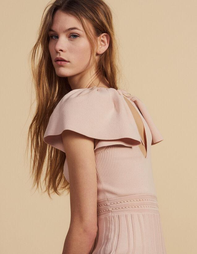 Short Knit Dress : LastChance-FR-FSelection color Powder