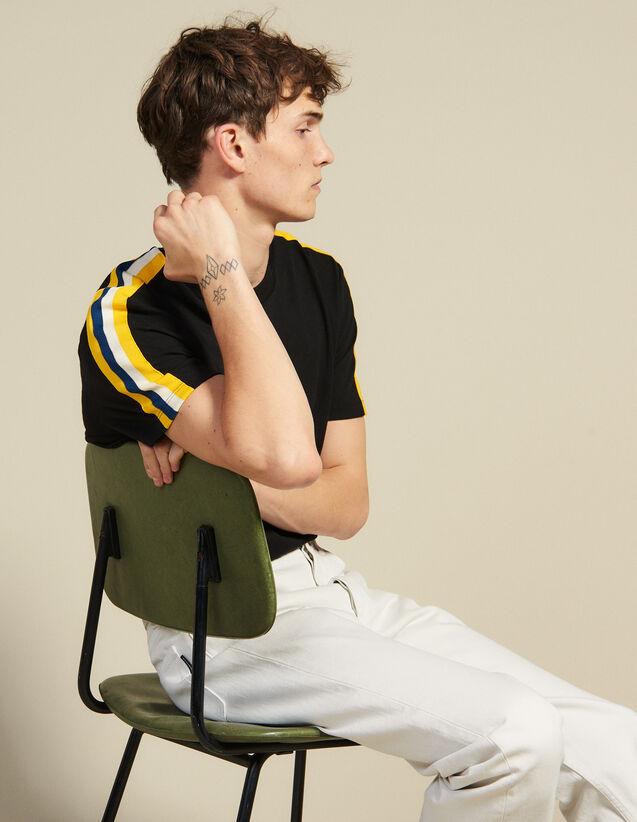 Athletic T-Shirt : T-shirts & Polo shirts color Black