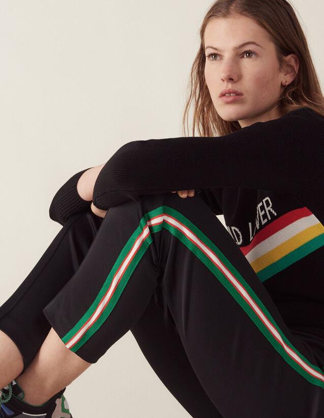 Jogging Bottom Style Trousers : LastChance-FR-FSelection color Black