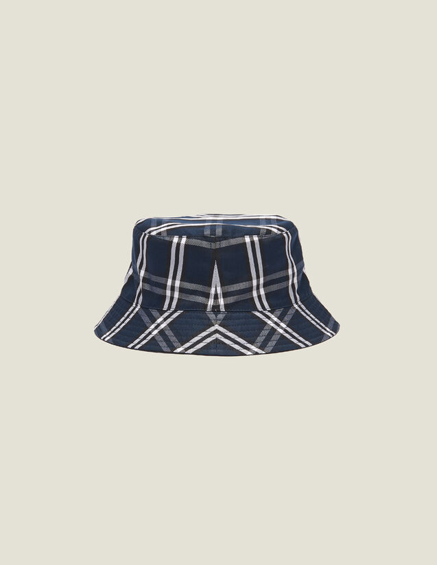 Reversible Technical Fabric Hat : Caps color Navy Blue