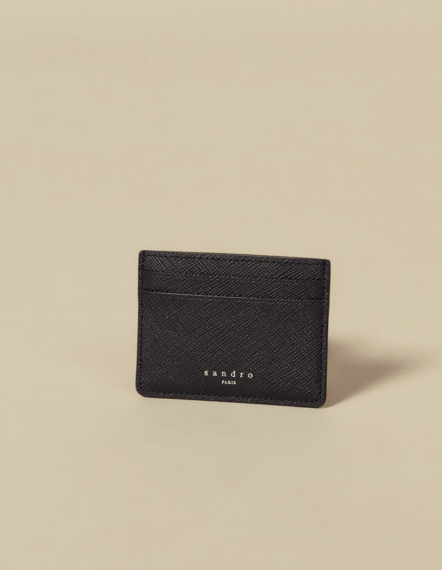 Leather card holder : Card Holders & Wallets color Navy Blue