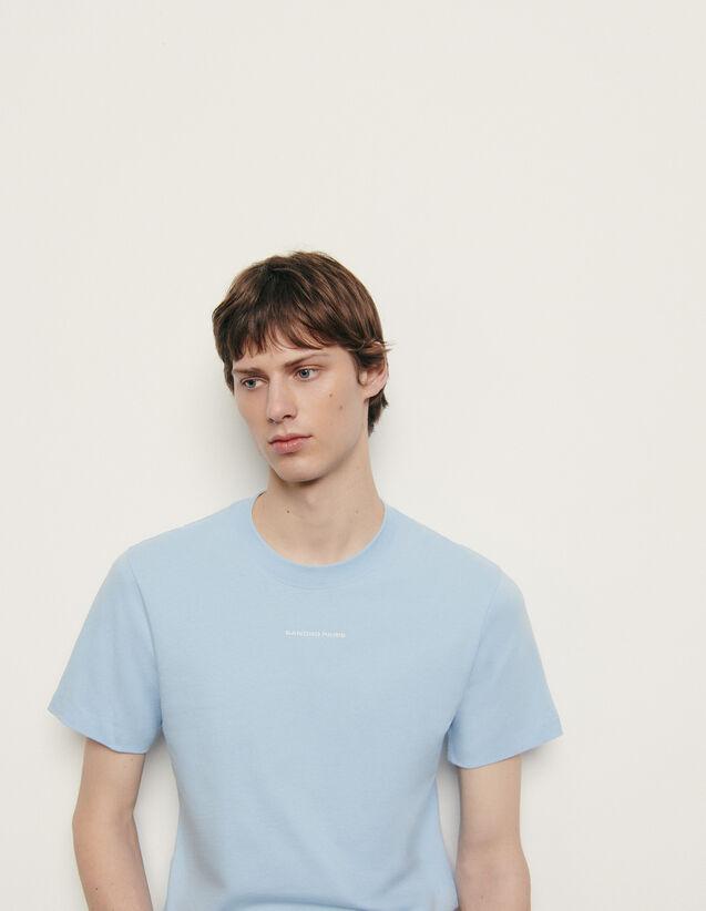 Organic cotton T-shirt : Winter Collection color Orange