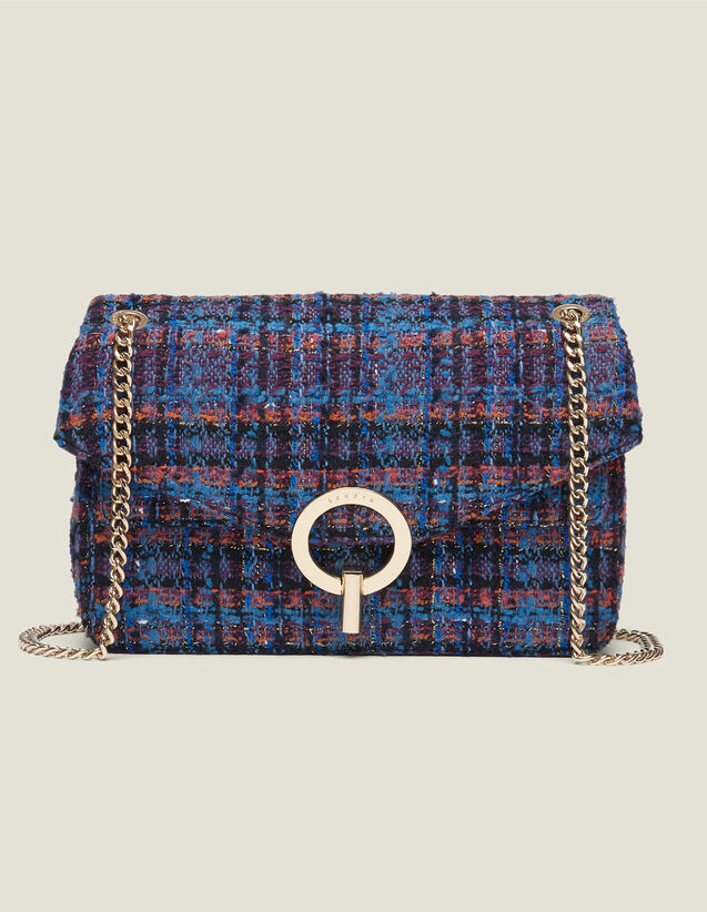 Yza tweed bag : Best of the season color Multi-Color