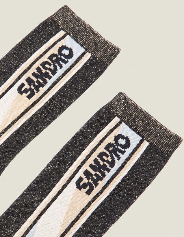 Lurex Socks : Copy of VP-FR-FSelection-AutresAccessoires color Black