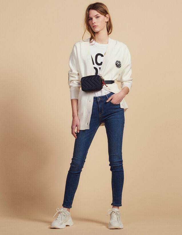 Slim Blue Jeans : Jeans color Blue Vintage - Denim