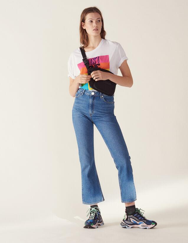 Flared Jeans : null color Blue Vintage - Denim