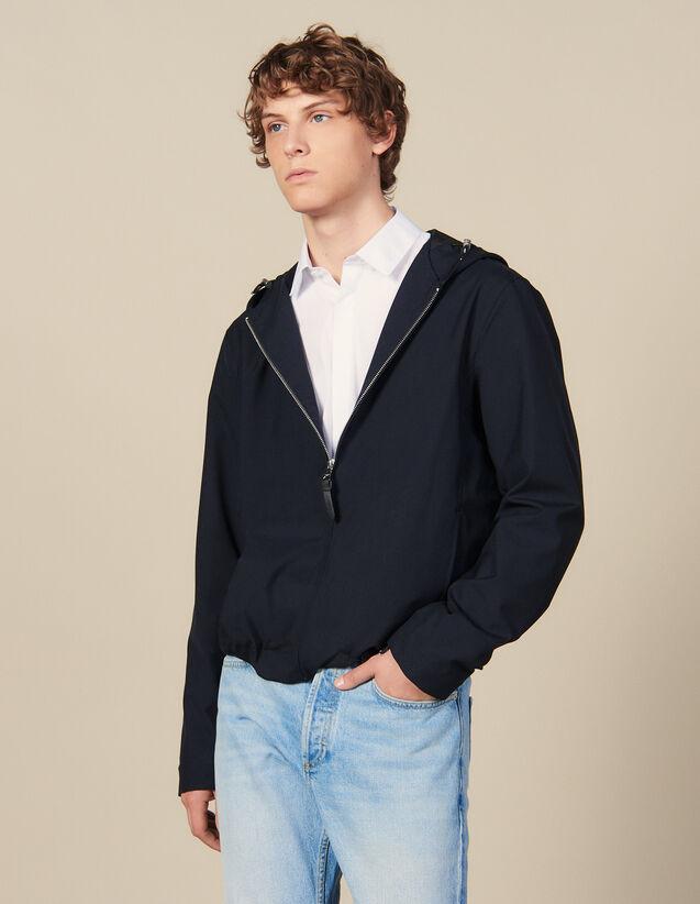Blouson avec capuche : HCollectionHiver couleur Anthracite