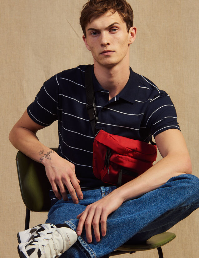 Stripe Polo Shirt : T-shirts & Polo shirts color white