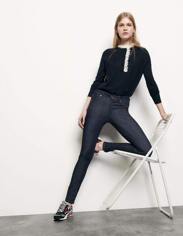 Jean skinny brut : Jeans couleur Brut - Denim