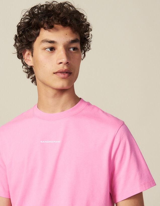 T-shirt en coton organique : HCollectionHiver couleur Orange