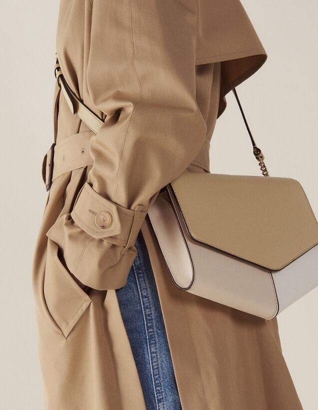 Lou Bag Large Model : Summer Collection color Beige/Blanc/Ecru
