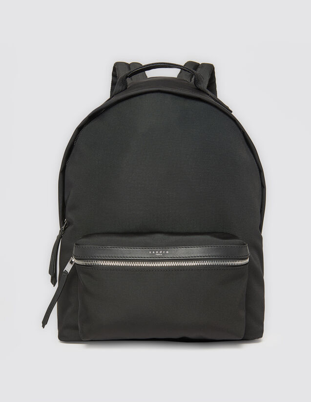 Technical Material Backpack : Backpacks color Black