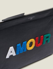 Amour Pouch : All Leather Goods color Black