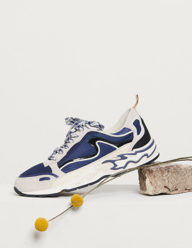 Flame trainers : New Summer Collection color Deep Navy