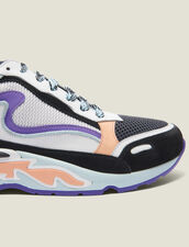 Flame Trainers : All Shoes color Blue sky