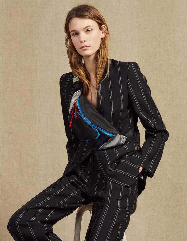 Matching Striped Blazer : LastChance-FR-FSelection color Black
