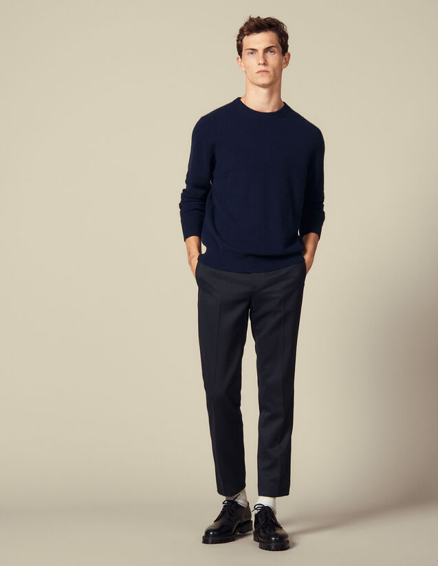 Double thread cashmere : Sweaters & Cardigans color Black