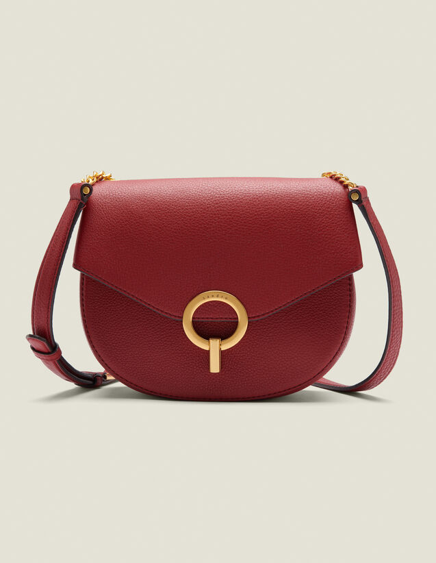 Pépita Bag, Medium Model : All Winter collection color Brick-Red